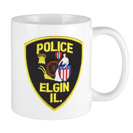 Elgin Illinois Police Mug
