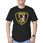 Elgin Illinois Police Men's Fitted T-Shirt (dark)