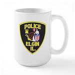 Elgin Illinois Police Large Mug
