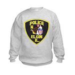 Elgin Illinois Police Kids Sweatshirt