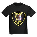 Elgin Illinois Police Kids Dark T-Shirt