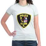Elgin Illinois Police Jr. Ringer T-Shirt