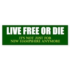 Live Free or Die Car Sticker