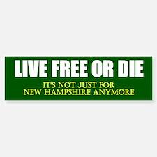 Live Free or Die Sticker (Bumper)