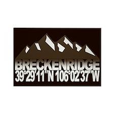 Breckenridge Colorado Rectangle Magnet