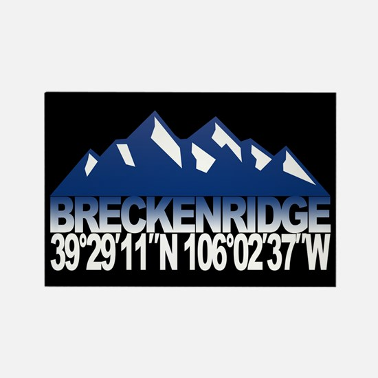 Breckenridge Colorado Rectangle Magnet