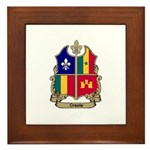 CREOLE Shield Framed Tile