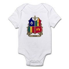 CREOLE Shield Infant Creeper