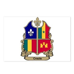 CREOLE Shield Postcards (Package of 8)