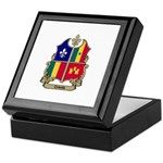 CREOLE Shield Keepsake Box