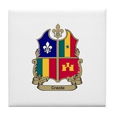 CREOLE Shield Tile Coaster