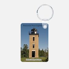 Peninsula Point Lighthouse Keychains