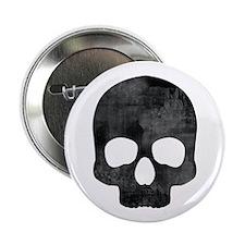 """Skull 2.25"""" Button"""