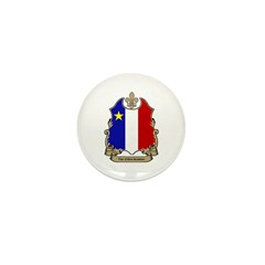 Fier Acadien Mini Button (10 pack)