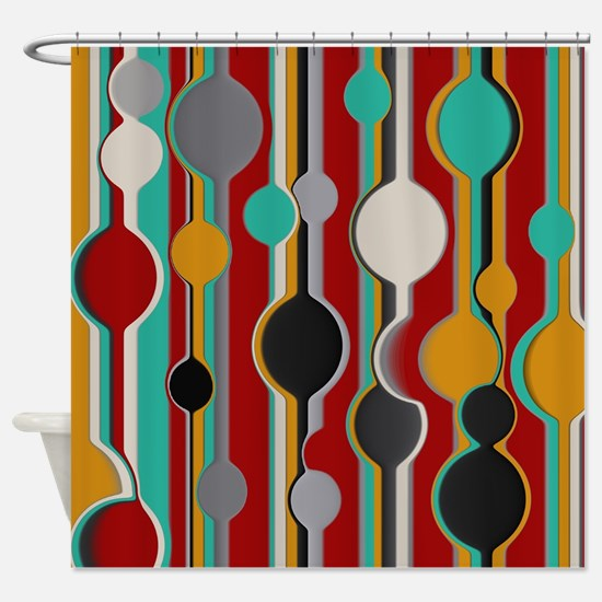 red and turquoise shower curtain. Unique Black red and turquoise Shower Curtain Red And Turquoise Curtains  CafePress