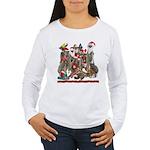 Xmas Meerkats Women's Long Sleeve T-Shirt
