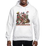 Xmas Meerkats Hooded Sweatshirt