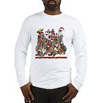 Xmas Meerkats Long Sleeve T-Shirt