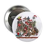 "Xmas Meerkats 2.25"" Button (100 pack)"
