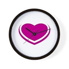 HEARTS & HEARTS Wall Clock
