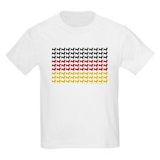 Dachshund Patriotic German Flag T-Shirt