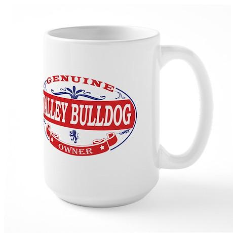 Valley Bulldog Owner Large Mug