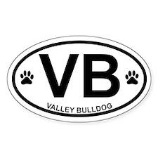 Valley Bulldog Decal
