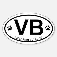 Victorian Bulldog Decal
