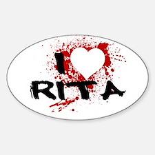 I Heart Rita Decal