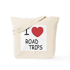 I heart road trips Tote Bag