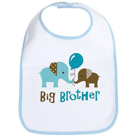 Big Brother - Mod Elephant Bib
