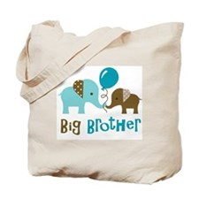 Big Brother - Mod Elephant Tote Bag