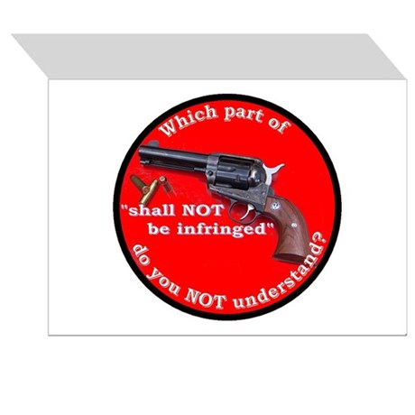 The Second Amendment Greeting Cards (Pk of 10)
