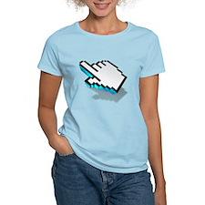 computer click hand icon T-Shirt