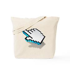 computer click hand icon Tote Bag