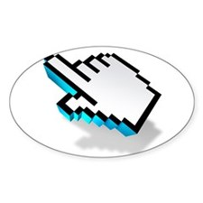 computer click hand icon Decal