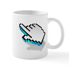 computer click hand icon Mug