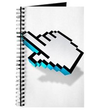 computer click hand icon Journal