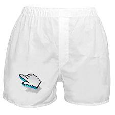 computer click hand icon Boxer Shorts