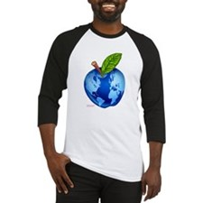 global apple planet map Baseball Jersey
