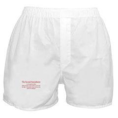 The Second Amendment Boxer Shorts