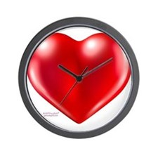 healthy heart life style Wall Clock