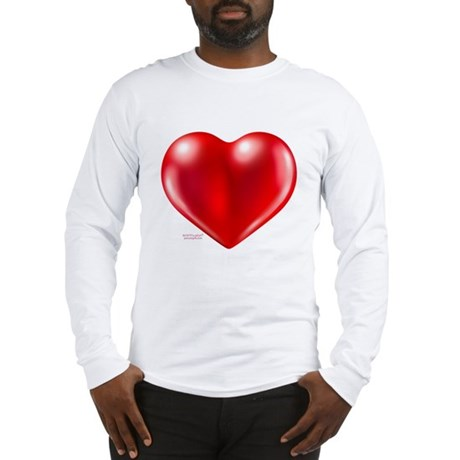 healthy heart life style Long Sleeve T-Shirt