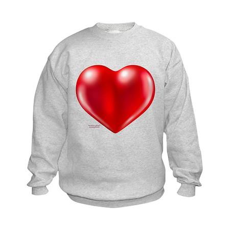 healthy heart life style Kids Sweatshirt