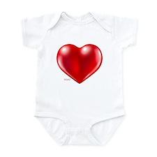 healthy heart life style Infant Bodysuit
