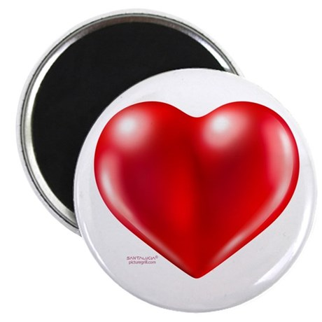 """healthy heart life style 2.25"""" Magnet (100 pa"""