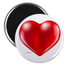 """healthy heart life style 2.25"""" Magnet (10 pac"""