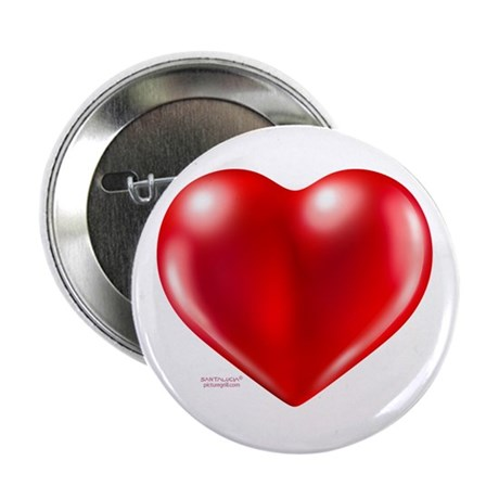 """healthy heart life style 2.25"""" Button (100 pa"""