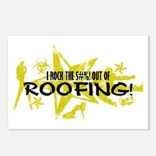 I ROCK THE S#%! - ROOFING Postcards (Package of 8)