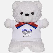 Linux. The OS people choose Teddy Bear